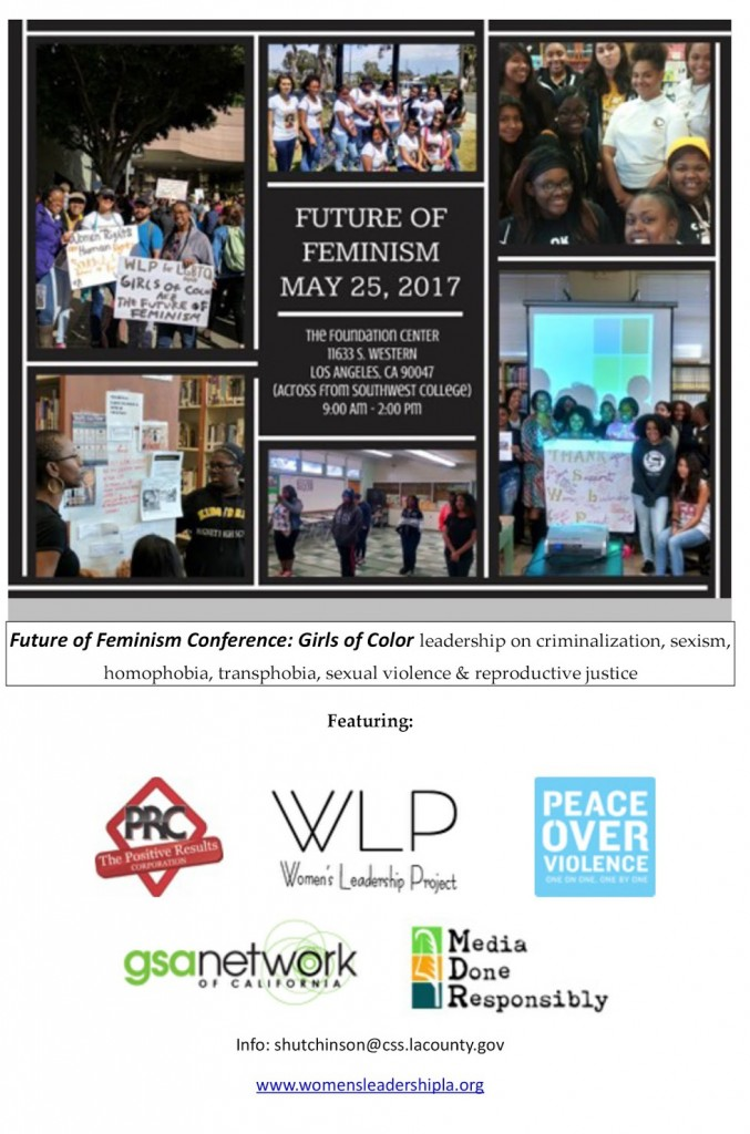 Future of Feminism Girls of Color Conference, May 25, 2017
